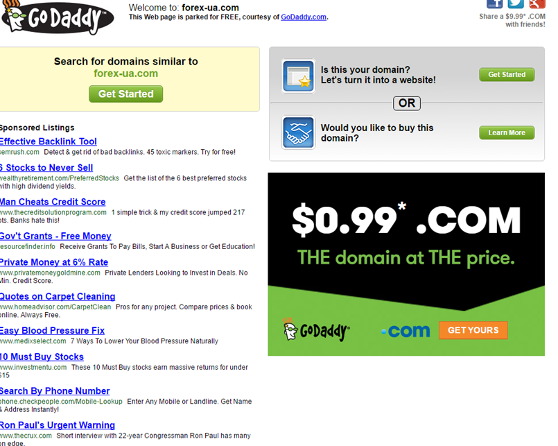 Sell your domain name for free